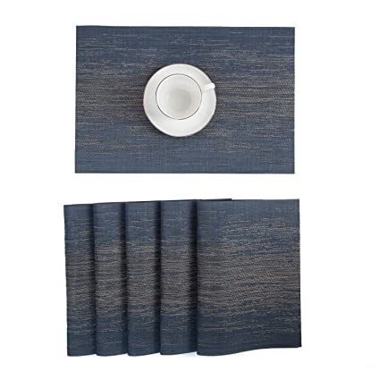 kokako placemats heat resistant dining table placemats stain
