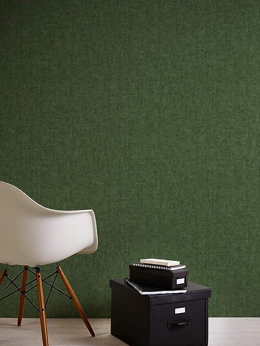 Papier peint uni A.S Cr/éationFree Nature 344537 34453-7 Papier peint intiss/é Papier peint salon Rouleau = 5,33 m/² Marron 10,05 x 0,53 m