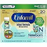 Mead Johnson Nutrition【エンファミル Enfamil / Newborn 3ヶ月未満 新生児用 液体ミルク / 59ml×6本セット】 [並行輸入品]