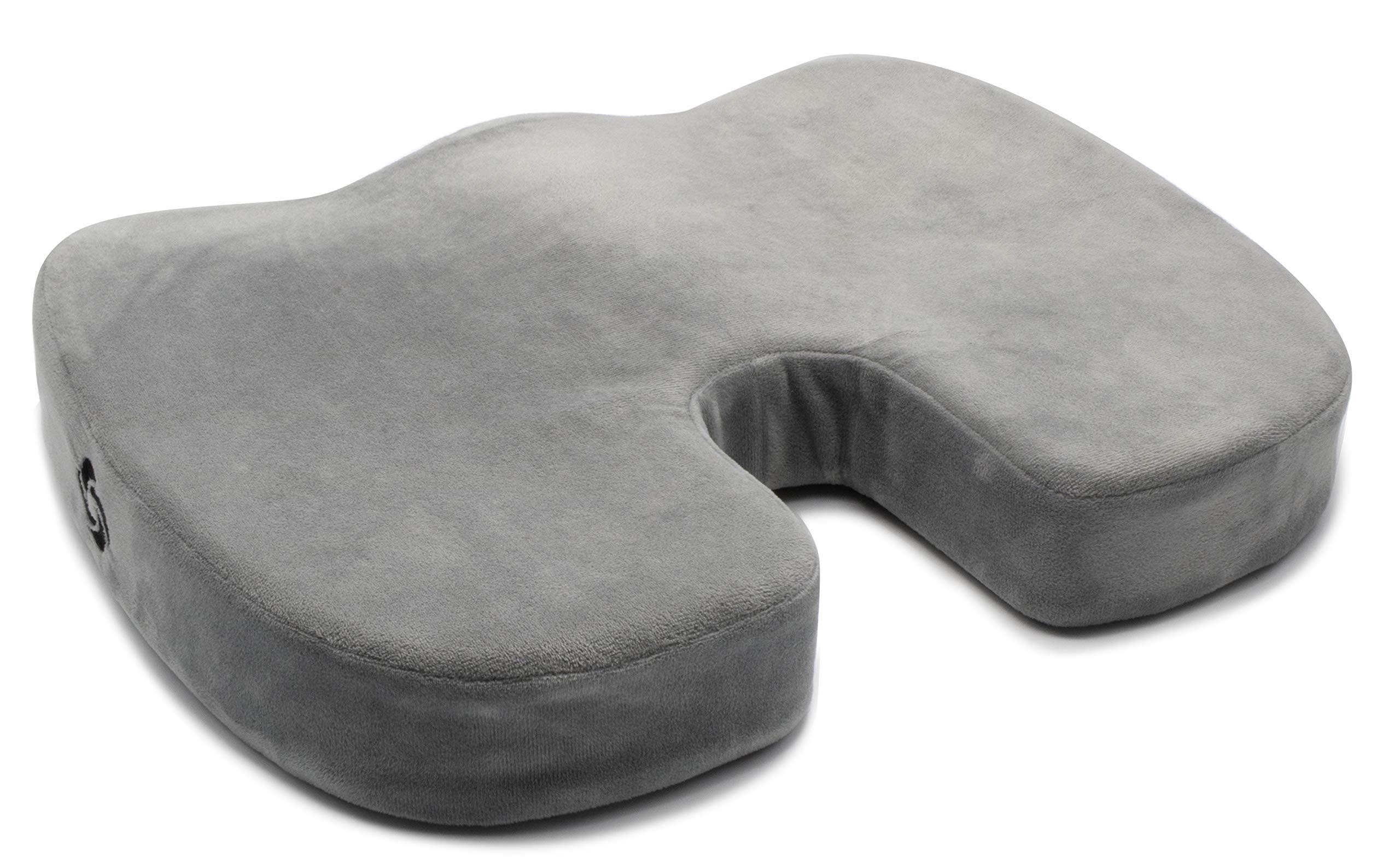 Samsonite SA5451 Orthopedic Gray Seat Cushion