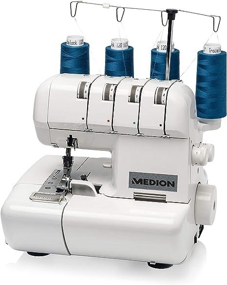 MEDION MD 14302 - Máquina de bloqueo remalladora, 90 vatios ...