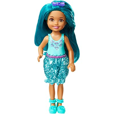 Barbie Dreamtopia Rainbow Cove Sprite Doll - Teal: Toys & Games