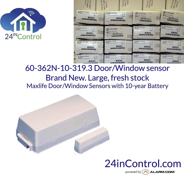 Set of 4 GE Interlogix Crystal Wireless Door Household Burglary Warning System