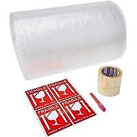 Xpress Pack 20-20m Bubble Roll, (2 OPP Tape + 4 Fragile Sticker)