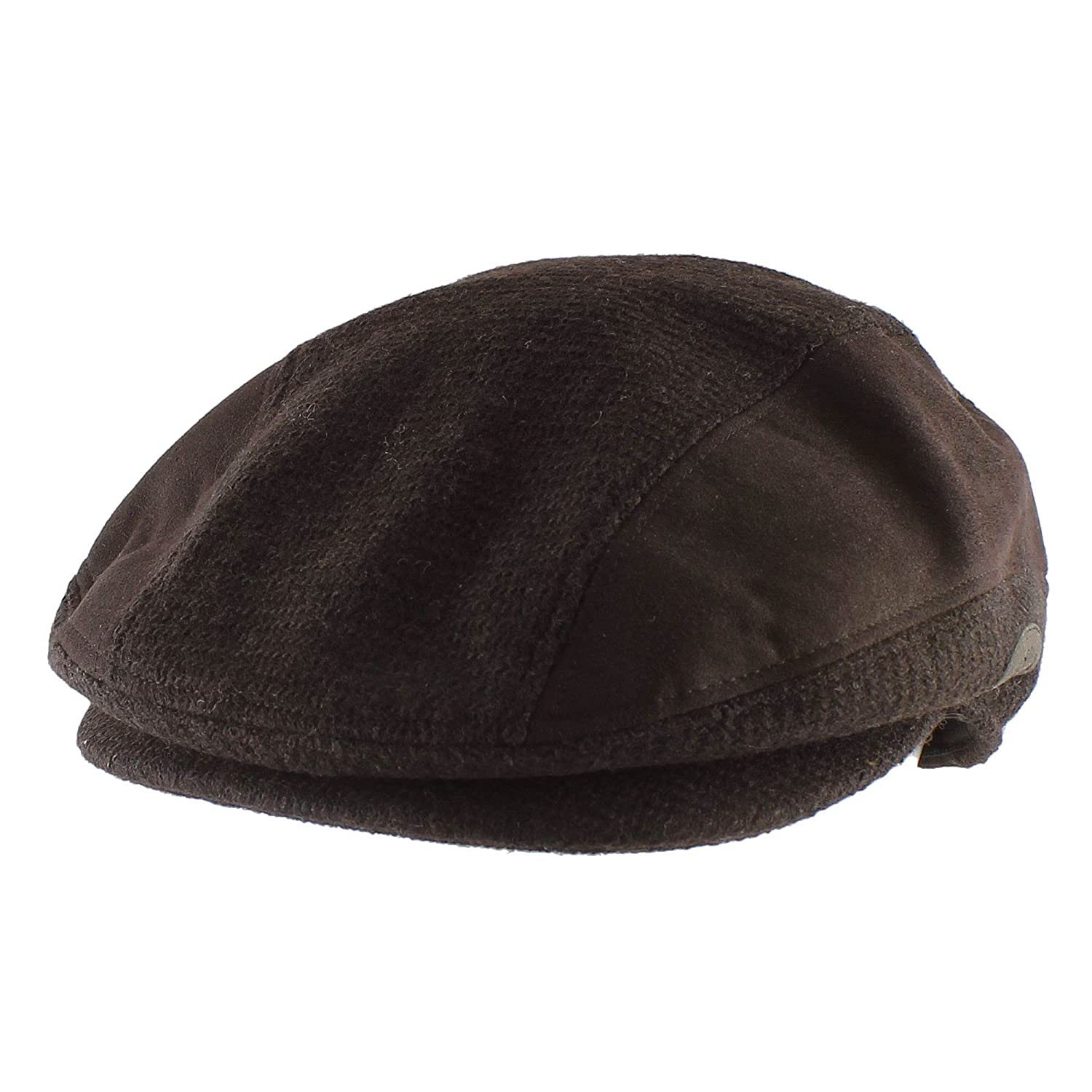 079459a7bcd Morehats Soft Faux Wool Warm Newsboy Cap Gatsby Golf Hat - Olive at Amazon  Men s Clothing store