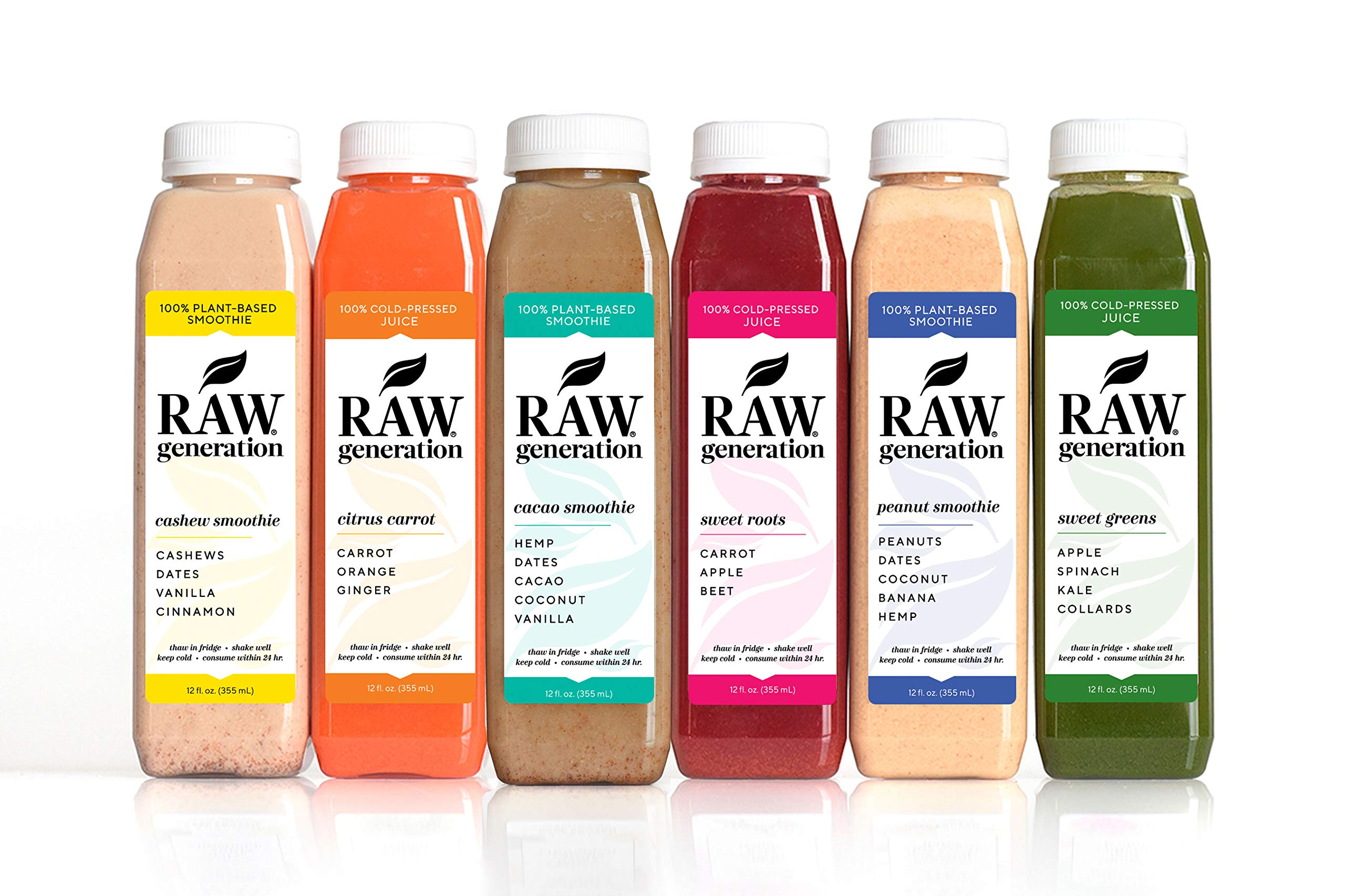 3-Day Protein Cleanse by Raw Generation® - High Protein Juice Cleanse with Dairy and Soy-Free Protein Smoothies/Lose Weight Quickly While Energizing Your Workouts/Jumpstart a Healthier Diet by RAW generation