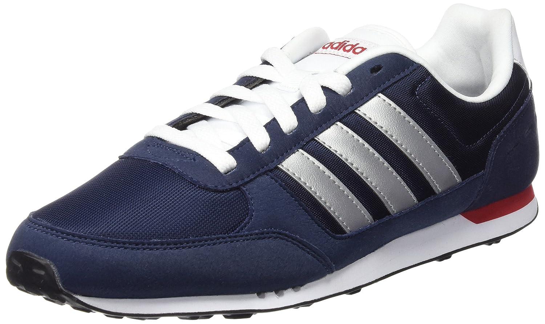 Adidas Neo City Racer, Zapatillas de Deporte para Hombre 36 2/3 EU|conavy-msilve-powred