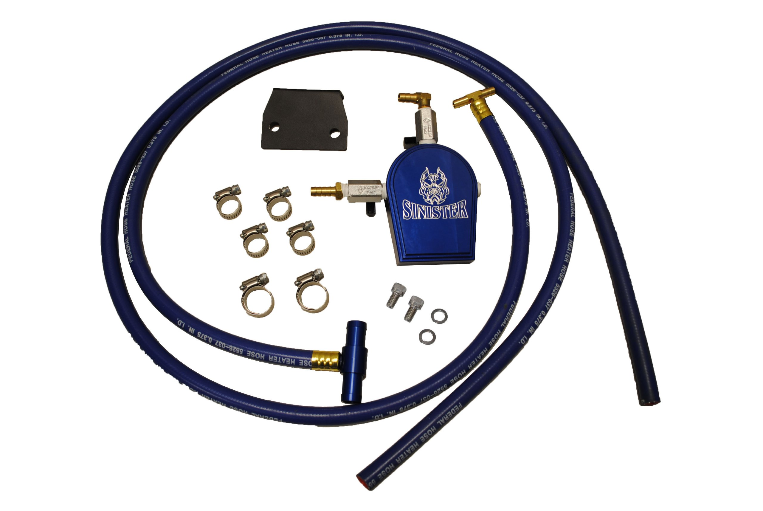 Sinister SMC-COOLFIL-6.4 6.4l Ford Powerstroke Coolant Filtration Kit by Sinister