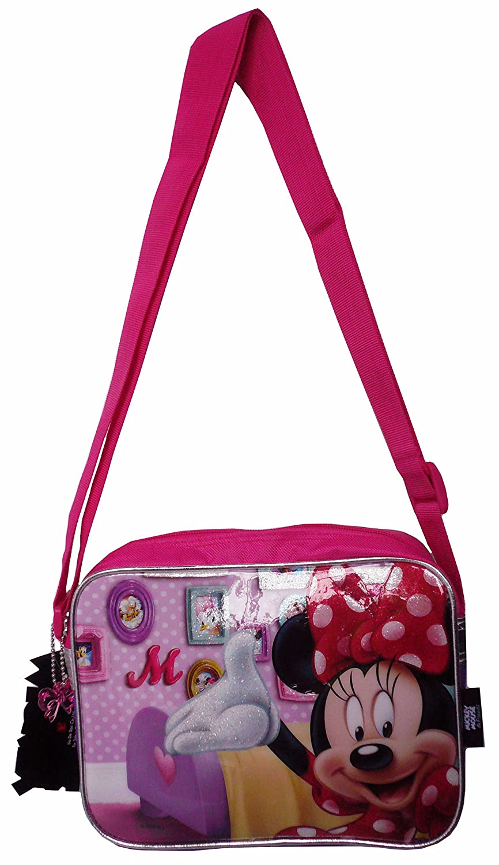 570b458df6 DISNEY MINNIE MOUSE SHOULDER BAG (MN759) Sling Bags