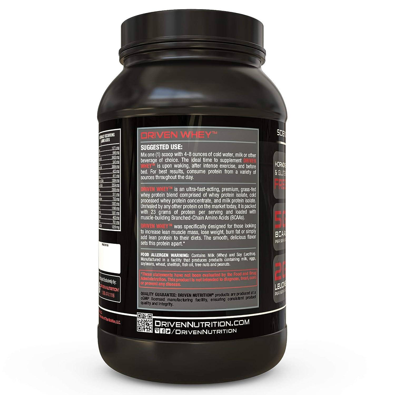 Amazon.com: Polvo de proteína de suero de césped impulsado ...