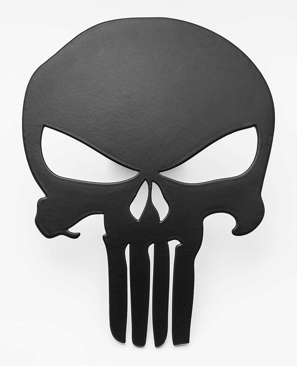 Blood Red SORHAN Punisher Trailer Hitch Cover Special Grade A Steel Fits 2 inch Tube Receiver