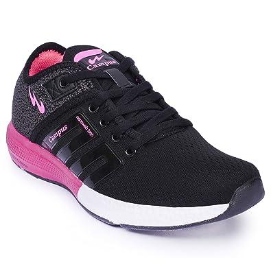 Black Mesh Running Shoes - Uk6: Amazon