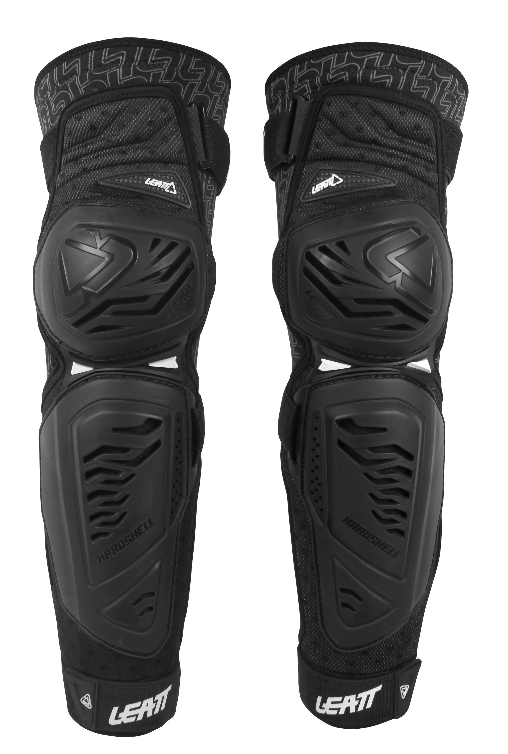 Leatt 5014210042 EXT Knee and Shin Guard (Black, Large/X-Large)