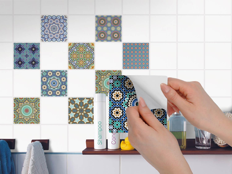 Mosaik Fliesenfolie für Küchenrückwand und Badfliesen   Abwaschbare ...