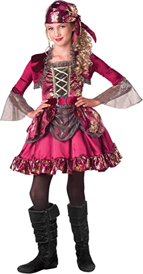 Estaciones First Mate disfraz de pirata vestido de Up, Small (4 ...