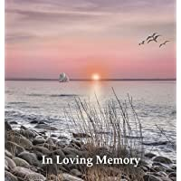 "Funeral Guest Book ""In Loving Memory"", Memorial Guest Book, Condolence Book, Remembrance Book for Funerals or Wake, Memorial Service Guest Book: HARDCOVER. A lasting keepsake for the family."