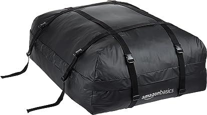 Amazon Basics -Portaeqiupajes baca, Negro, 425 L