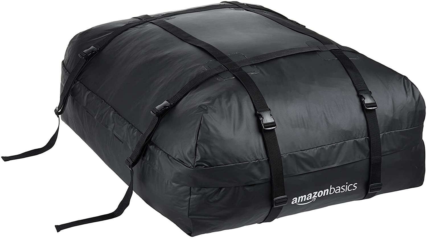 Basics Rooftop Cargo Carrier Bag, Black, 425 litres ZH1705156