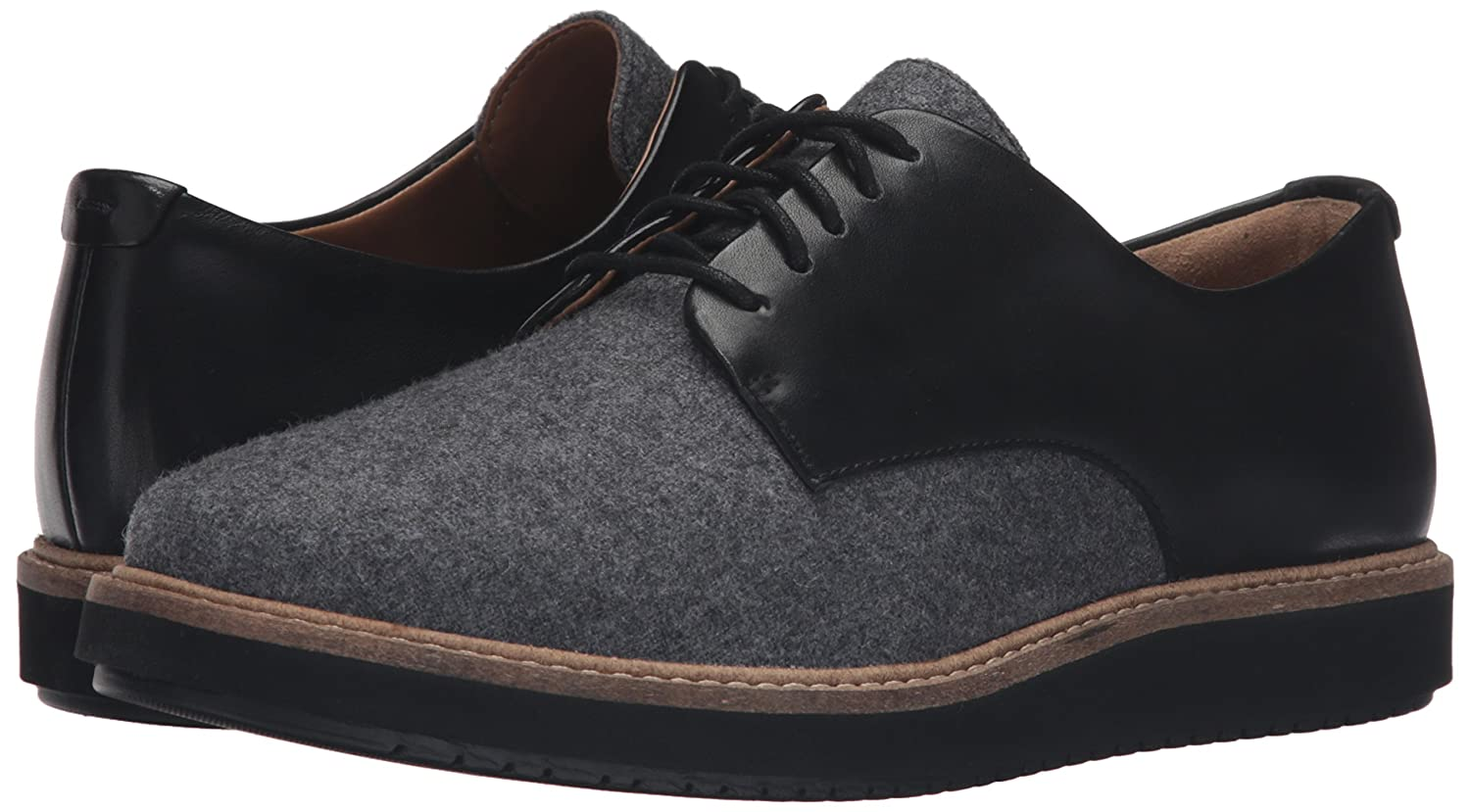 Quinto Bergantín Avispón  Buy CLARKS Women's Glick Darby Synthetic Oxford, Grey Combo, 7.5 M US at  Amazon.in