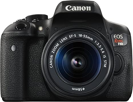 Canon EOS Rebel T6i Digital SLR with EF-S 18-55mm IS STM Lens