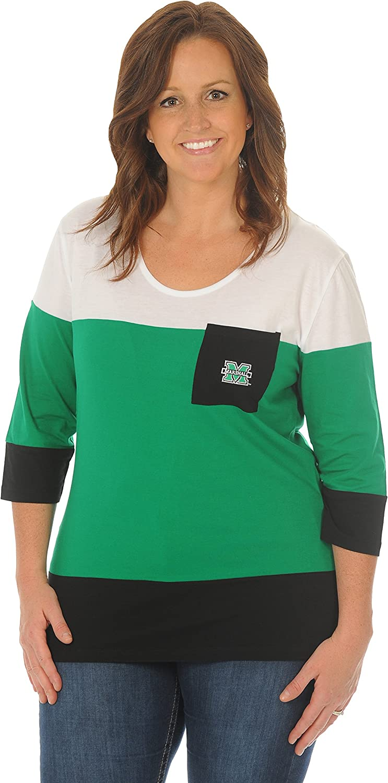 UG Apparel NCAA Womens Colorblock 1//4 Zip