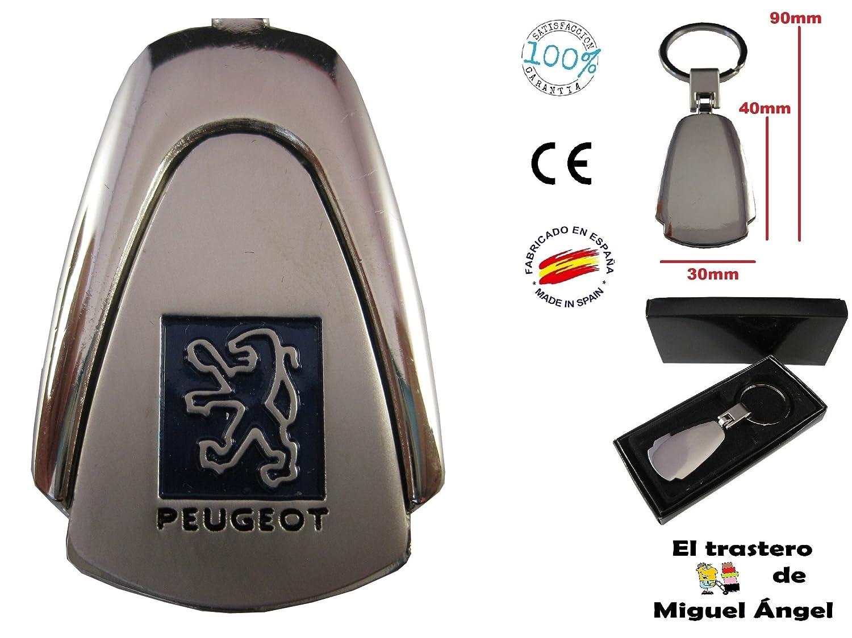 ETMA Porte-clé s Peugeot pour clé s de voiture