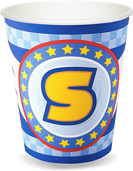 Sonic The Hedgehog Birthday Party Supplies 24 Pack Paper Cups