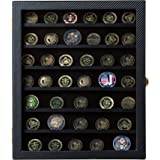 JackCubeDesign Military Challenge Coins & Casino Poker Chip and Medals/Pins/Badges/Ribbons Display Case/ 7 Tiers Black Rack C