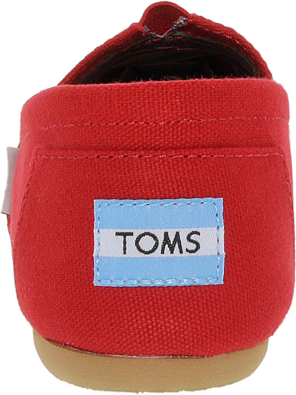 TOMS Women's Canvas Classics Alpargata NL Espadrilles rood (red)