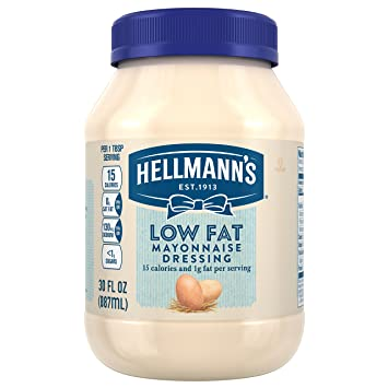 Hellmann's Mayonnaise Dressing, Low Fat, ...
