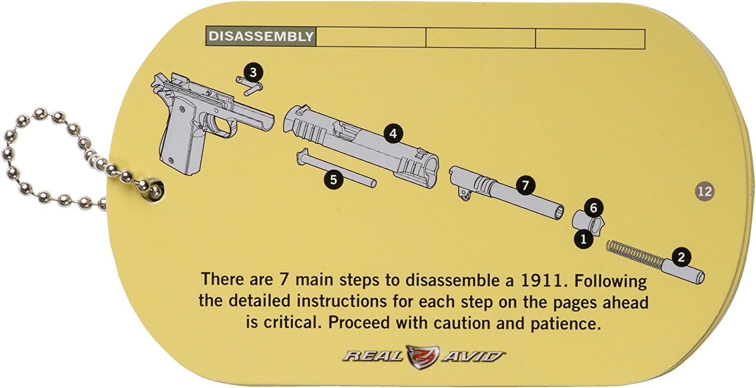 Real Avid 1911 Field Guide Sports & Outdoors Gunsmithing Tools ...
