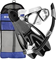 U.S. Divers Adult Cozumel Mask/Seabreeze II Snorkel