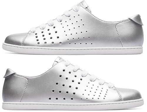 Camper Twins K200636-002 Zapatos Planos Mujer  Amazon.es  Zapatos y  complementos d9a52d59ee19