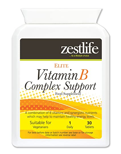 Zestlife VITAMINA B ... Ayuda a mantener la producción de glóbulos rojos sanos |