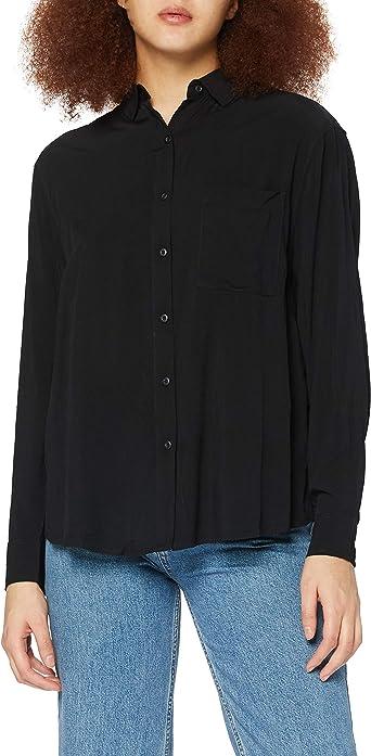 Urban Classics Ladies Viscose Oversize Shirt Camisa para Mujer