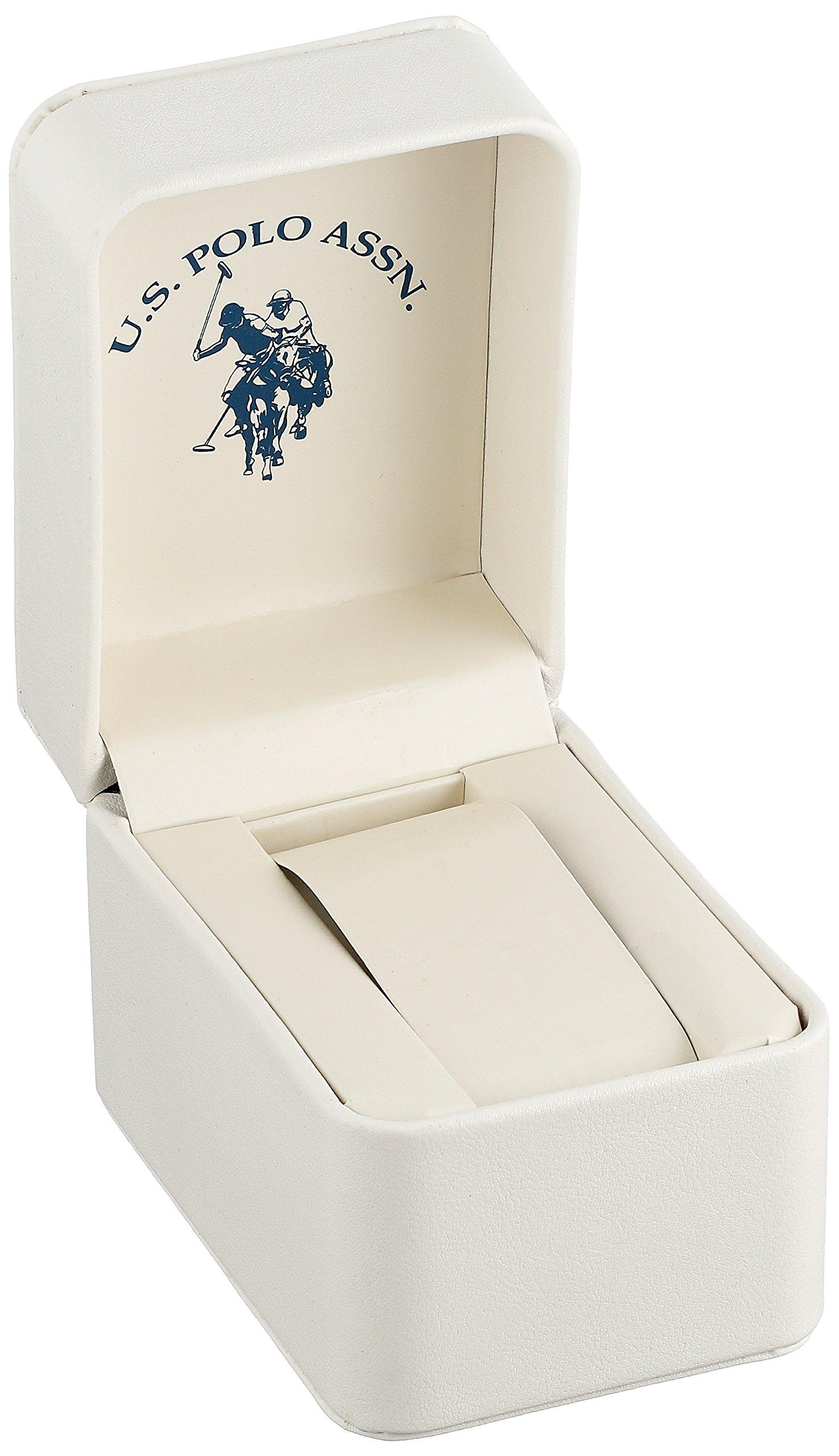 U.S. Polo Assn. Women's USC40069 Gold-Tone Link Bracelet Watch