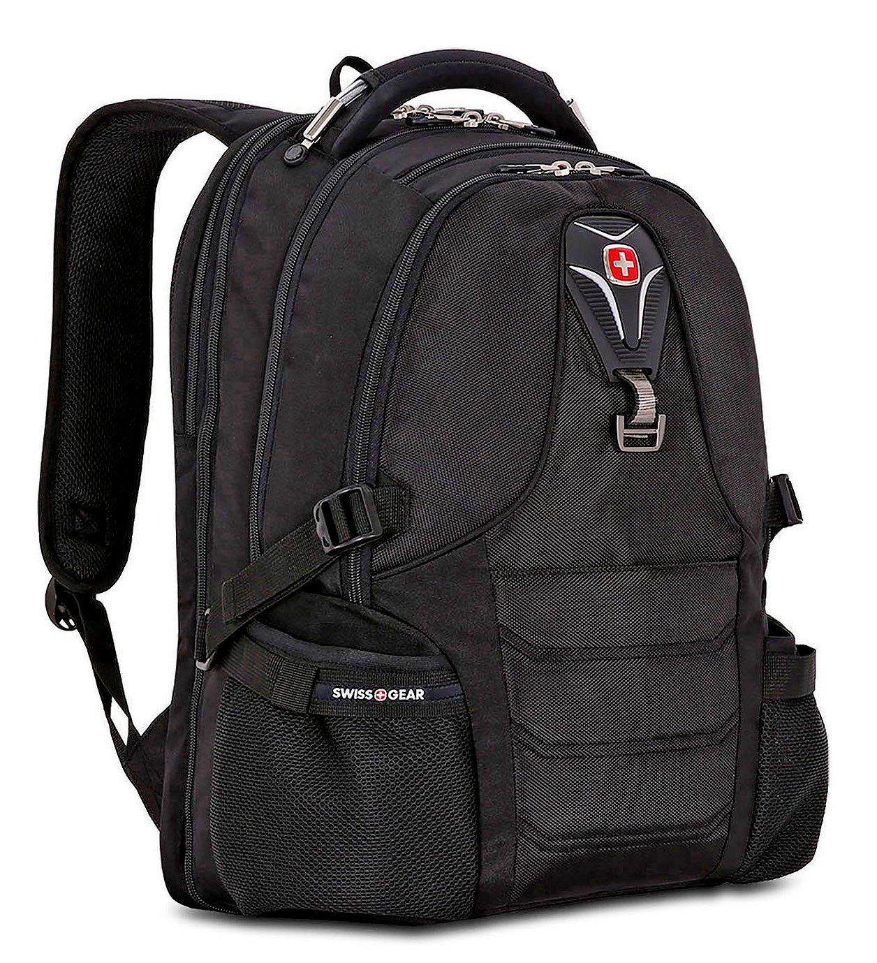 SwissGear Premium Laptop Notebook ScanSmart Backpack, Swiss Gear Outdoor Travel School Bag