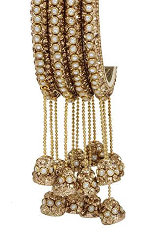 Designer Indian Bollywood Costume Jewellery Necklace Set Gold plated colour new