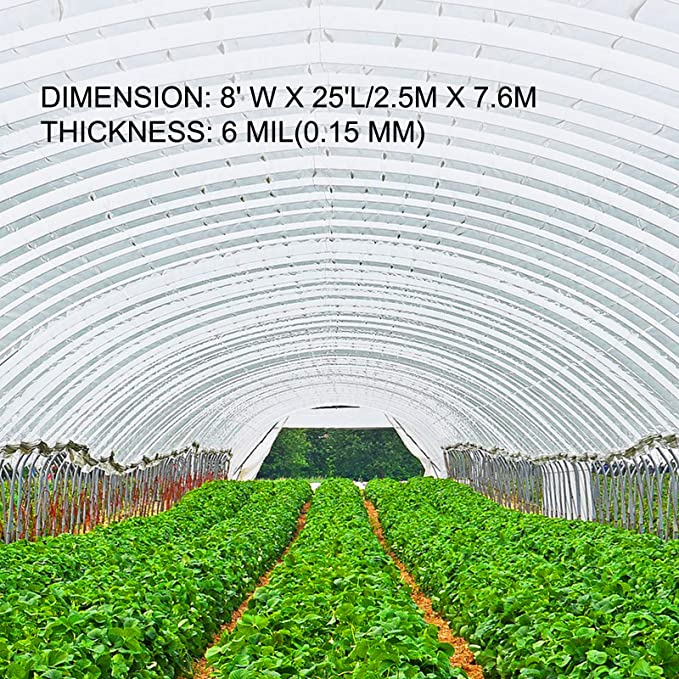 Towel Greenhouse Film Polyethylene Mixed 0,15mm for Covers Transparent 2,5 MT