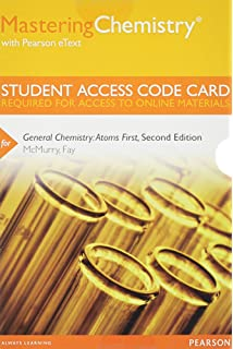 General chemistry atoms first 2nd edition john e mcmurry mastering chemistry with pearson etext standalone access code card for general chemistry fandeluxe Images
