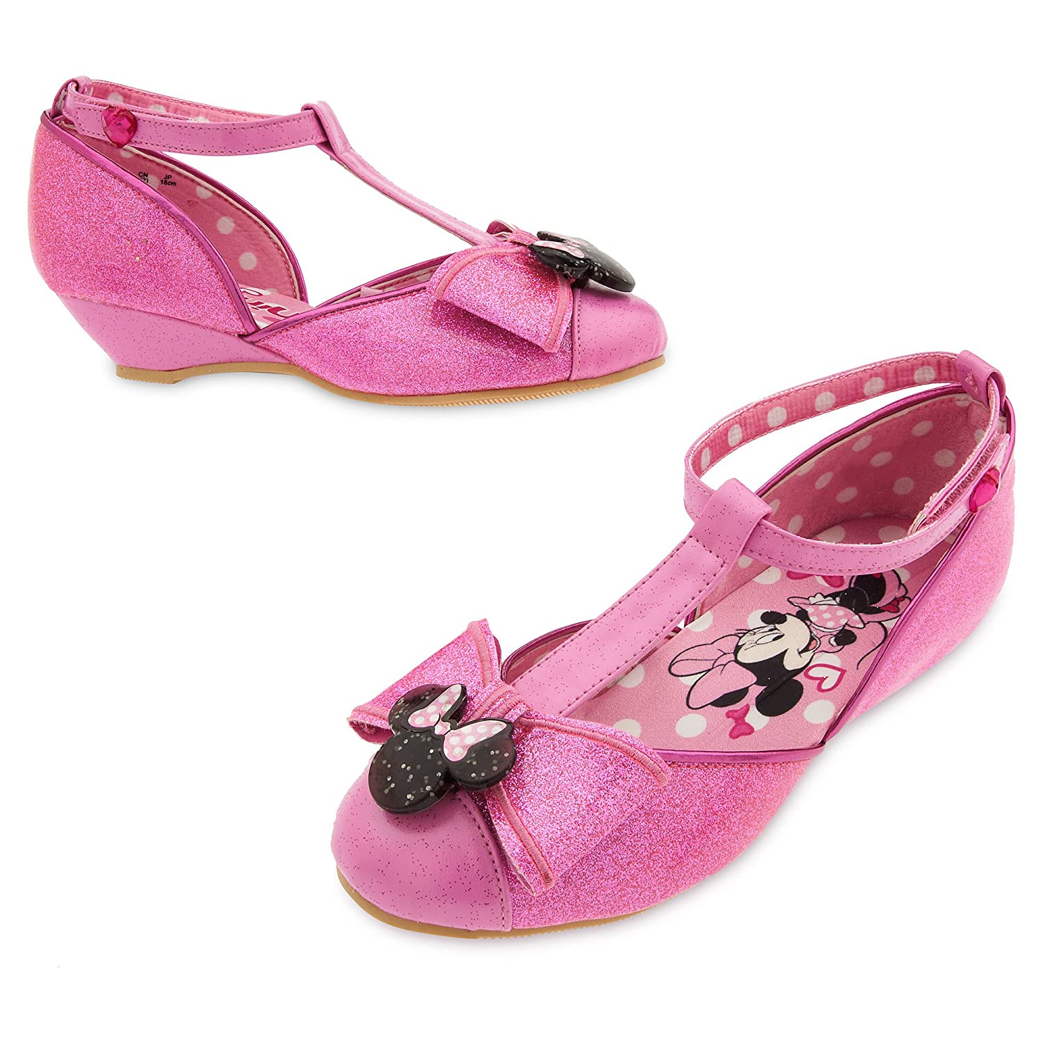 Disney Minnie Mouse Costume Shoes for Kids 2843057548076100