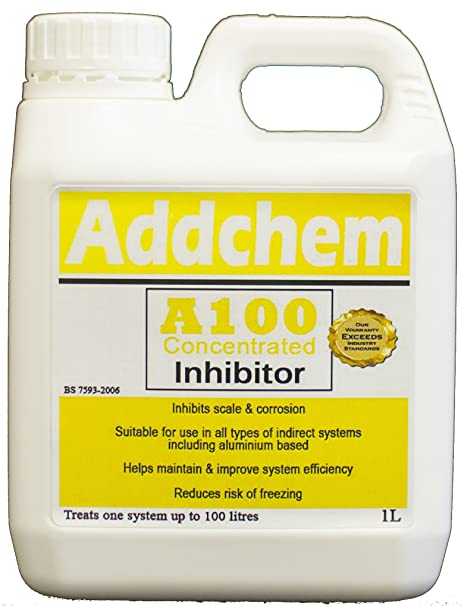 CENTRAL HEATING SYSTEM INHIBITOR (1L) TREATS 100L SYSTEM: Amazon.co ...