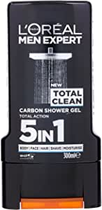 L'Oréal Paris Men Expert Total Clean Carbon Shower Gel 300ml