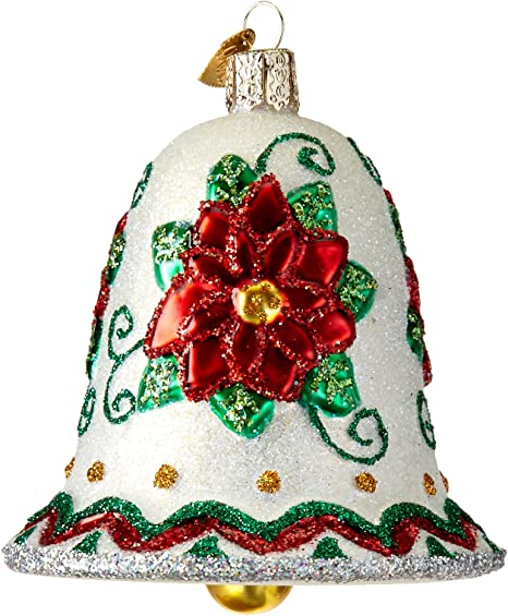 Old World Christmas Ornaments Illinois Pennant Glass Blown Ornaments for Christmas Tree