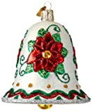 Old World Christmas Ornaments: Poinsettia Bell