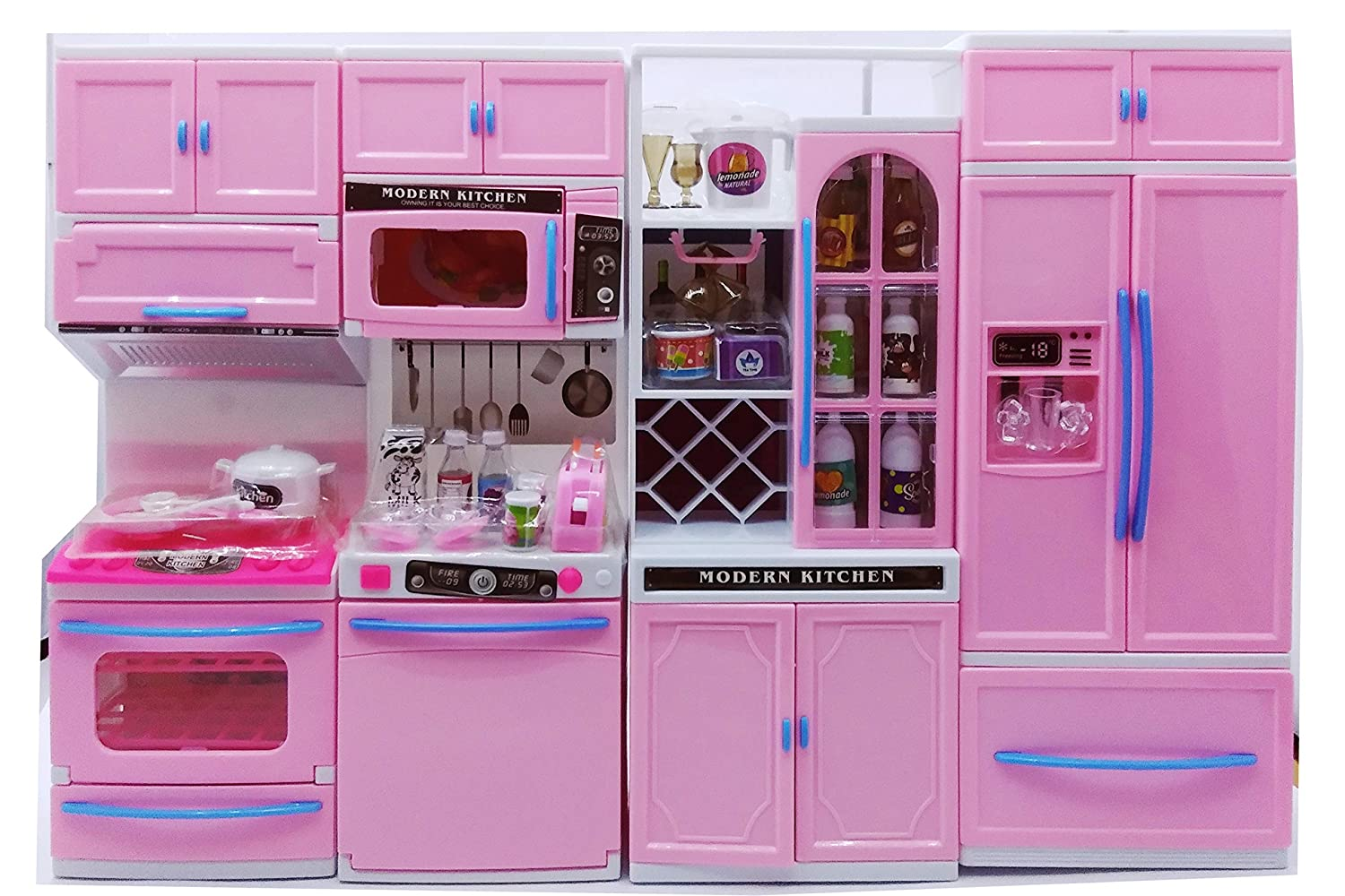 Buy Jvm Dream House Kids Battery Operated Kitchen Set With Light