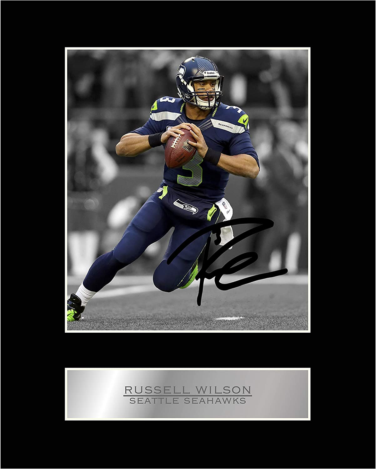 RUSSELL WILSON Seattle Seahawks Canvas Poster Photo Painting on CANVAS Wall Art