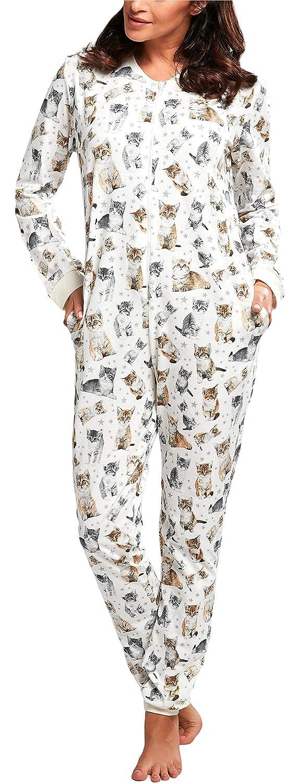 Cornette Pijama Entero Una Pieza Ropa de Casa Mujer CR-107
