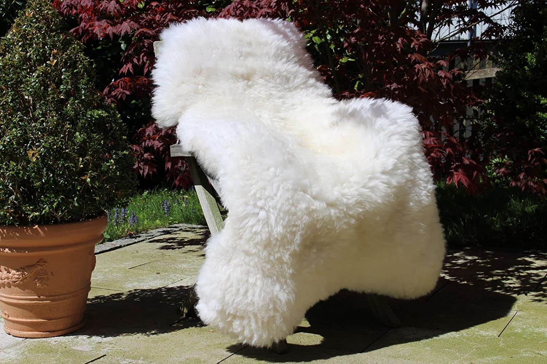 Piel de cordero, oveja Merino grande 130-140 cm, blanco ...