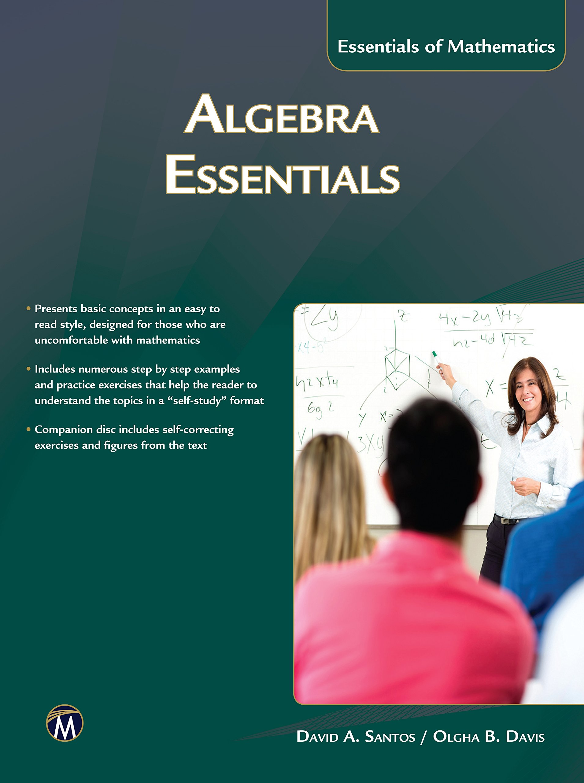 Algebra Essentials (MyMath Essentials): David A. Santos, Olgha Davis ...